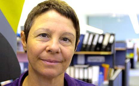 RESPECT: Drama teacher at Mullumbimby High Marisa McEwan in her office