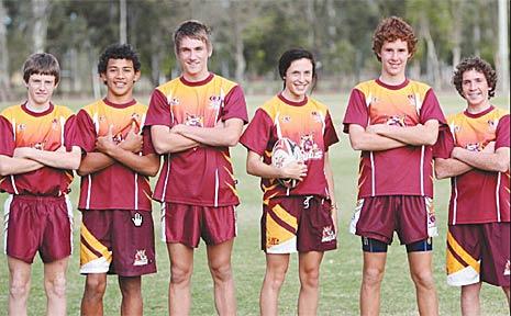 Touch starts James Baartz, Jonah Placid, Jack Williams, Addison McKenzie, Josh Buchanan and Steven Donovan will lead the Queensland charge in New Zealand.