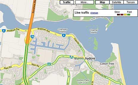 Drivers get new traffic view | Sunshine Coast Daily