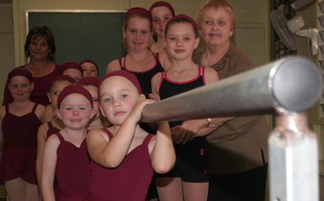 DANCE DIVAS: Students from Kristine Corfield's (left) dance undertook dance exams recently  under master examiner Doreen Thomas.