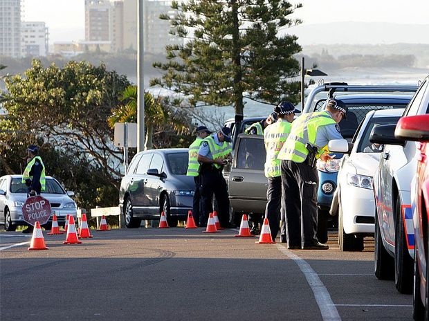 Coast police were out in force in Mooloolaba over the weekend for a major traffic operation.