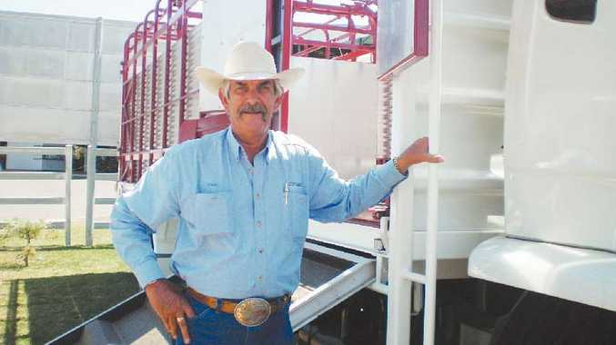 Truck specialist for Westco Paul Farrell has sold three trucks since the sales began and is looking forward to Brahman Week in October.