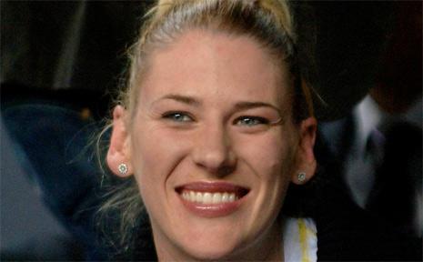 Australian WNBA star Lauren Jackson.