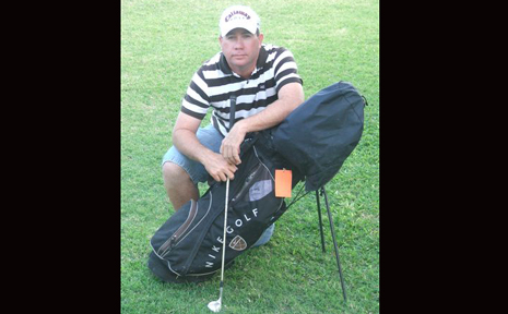 GOING CLUBBING: Moura golfer Daryl Myles has been selected in the CQ men's rep team.