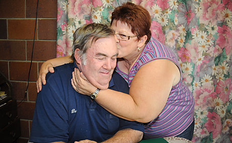 Des and Machelle Erb are counting their blessings after a tough 18 months.