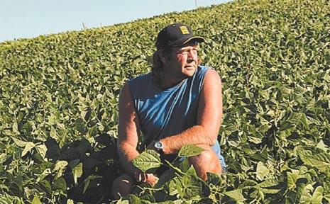 GOLDILOCKS HOPE: Farmer Greg Jess is hoping his next rainfall will be