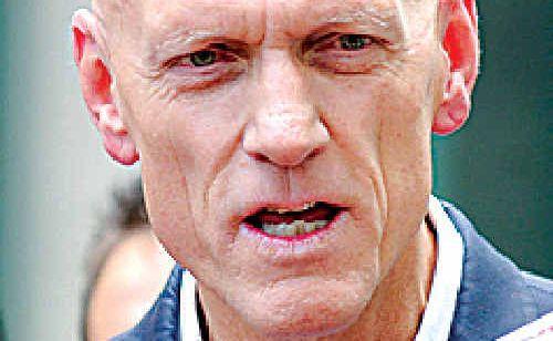 Federal environment minister Peter Garrett.