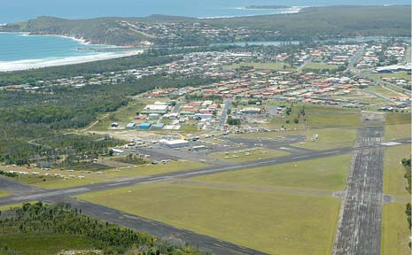 NEW ZONING: Evans Head Aerodrome land has been rezoned by the State Government to accommodate a new aged-care facility.