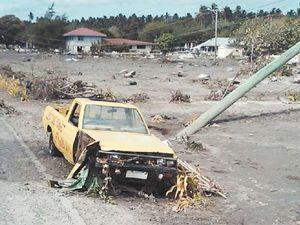 Maria a hero in tsunami horror