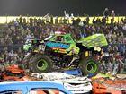 Monster trucks draw huge crowd