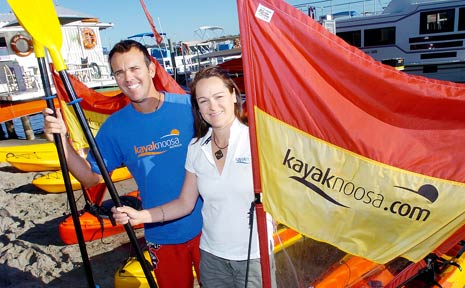 Kayak Noosa is hosting a Kayak Expo on Sunday from 8am to midday.