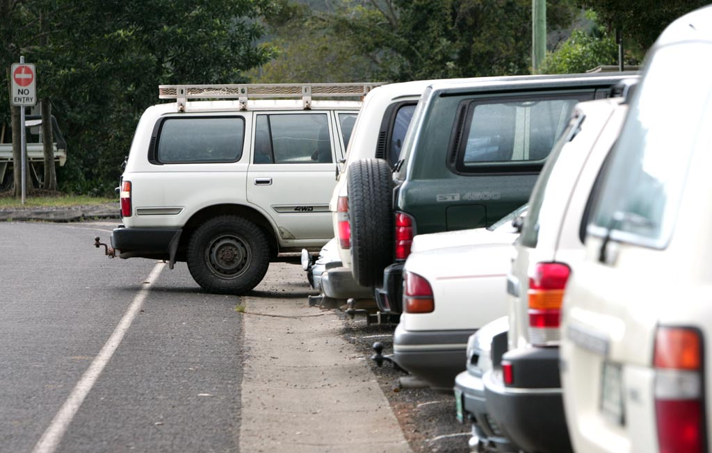 Ann Rickard thinks 4WD's shouldn't be able to park next to smaller cars in shopping centres? Do you agree?