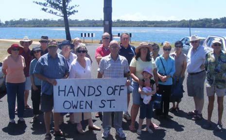 Ballina residents are opposing a move by RSL Life Care to redevelop the Ex-Services Home, Ballina.