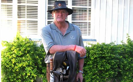 KING OF THE CLUB: Taroom golfer Graham Sharp won his sixth Taroom Golf Club Championship recently. Picture supplied.