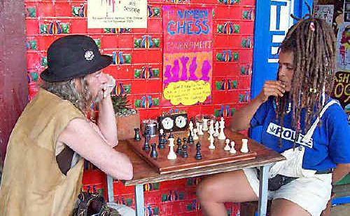 A chess tournament is being held in Nimbin this weekend.