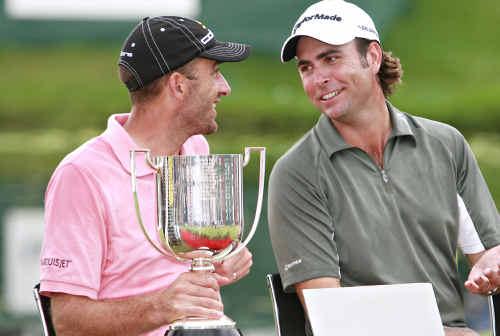 Geoff Ogilvy and Mathew Goggin.