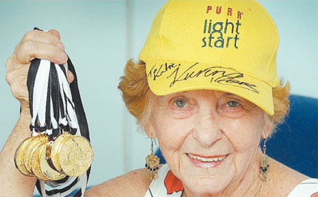 Former Hervey Bay resident Margot Bates will take the plunge in five individual events and be part of a New Zealand relay team during the World Masters Games in Sydney.