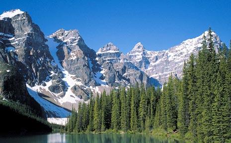 Enjoy breathtaking views in Alaska.