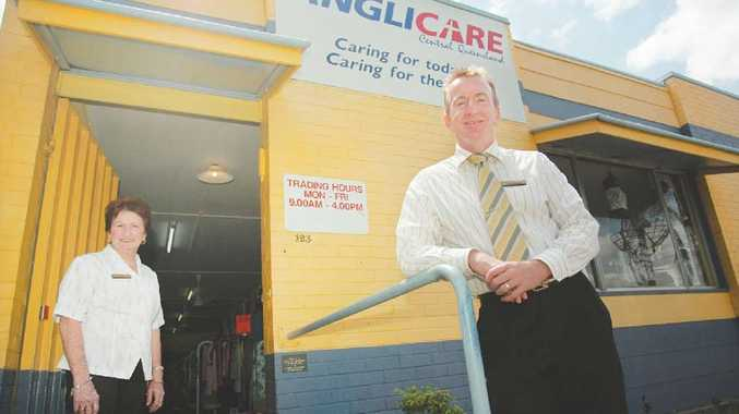Anglicare CQ chief executive Philip Shade and Denison Street store manager Sharon Ferris have noticed more people seeking assistance. As this week is Anti-Poverty Week, they want people to know they are here to help.