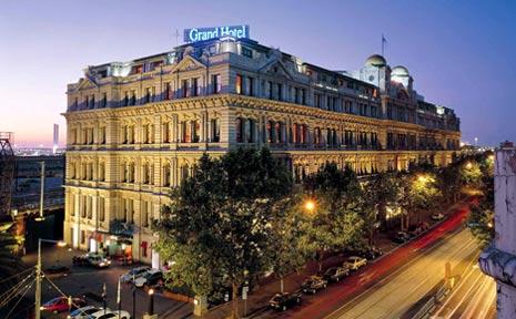 Melbourne's Grand Hotel.