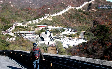The Great Wall of China is a moving testament to the resilience of the human spirit.