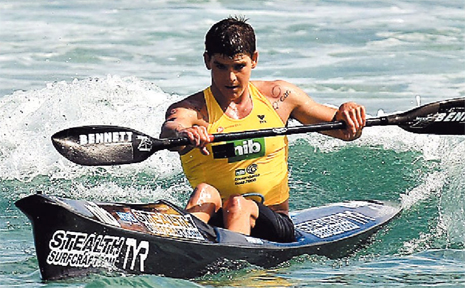 DEFENDING champion Caine Eckstein will be chasing a third title when he lines up in the Coolangatta Gold ironman event on Sunday.