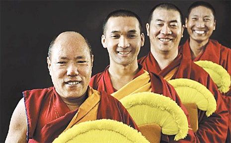 Gyuto Monks of Tibet Sonam Dorjee, Passang Gyamtso, Gelek Gonpo and Tenzin Jigme will be sharing their culture and rituals at next week's North Coast National.