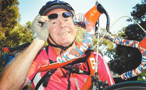 LYCRA was the fashion at Hervey Bay's inaugural Tour de Bay Charity Bike Ride.