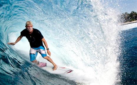 Australian surfer Mick Fanning.