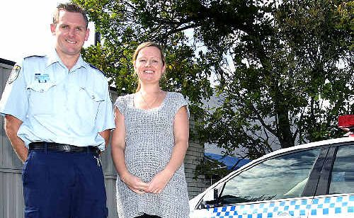 TWEED police officers Brett and Louise Crosson were given Bravery Awards for saving a woman in the surf.