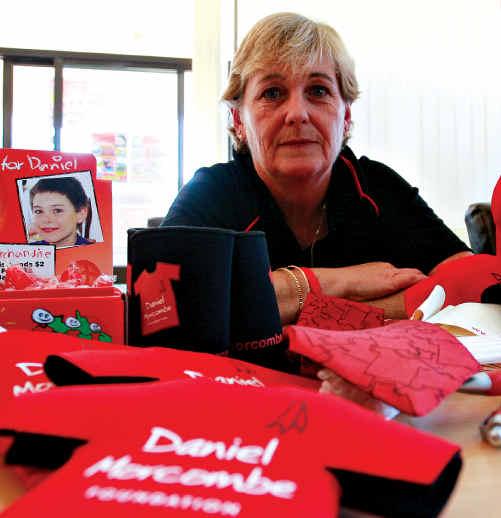 Denise Morcombe has worked tirelessly promoting child safety around Australia.