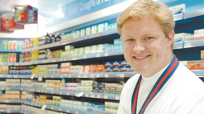 Yeppoon's Bruce Elliot has been awarded the 2009 Young Australian Pharmacist of the Year.