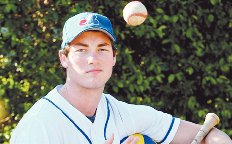 SWITCH HITTER: Robert Reeves has swapped his beach vollyeball for his baseball gear with both Reeves and Ipswich Musketeers enjoying the benefits.
