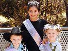 2008 Jacaranda Children's Party title-holders Nicholas Jamieson, Zahli Bancroft and Madeleine Vidler.