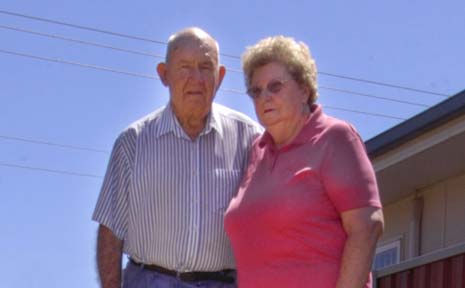 Ron and Noeline Nichols, of Ballina, paid to have broken roof tiles replaced after roof insulation was installed in their home.