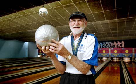 Bruce 'Poppa' Gallaher loves his sport.