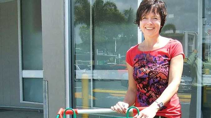 Andrea Quinn won $1000 for reporting lost trolleys.
