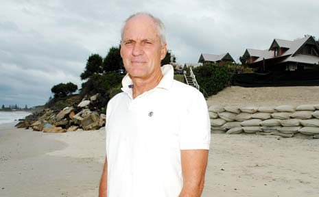 ONGOING WAVE: A desire to live on the beach still overrides concerns about climate change, according to Byron Bay buyer's agent Michael Murray.