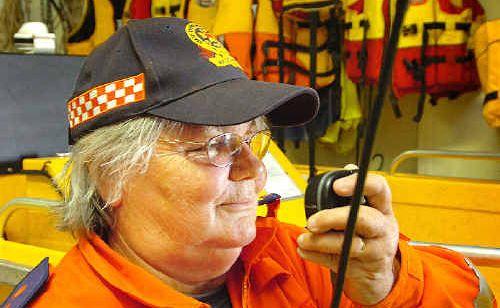 Maryborough SES local controller Helen Scott.