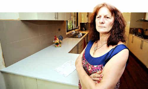 Kitchen customer Jenny Duckmanton wants buyers to beware.