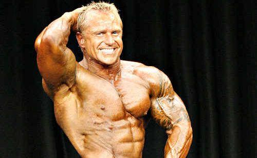 Coast bodybuilder Colin Johnson, 41.
