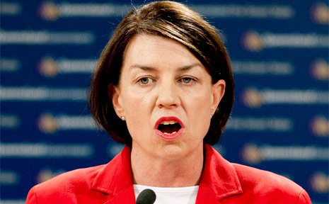 Queensland Premier Anna Bligh.