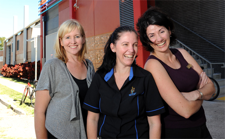 HIRE TO HELP: From left, Nikki Parkinson, Kym Nunan-Squier and Peta Simpson have joined forces to conduct a workshop for job-seekers.