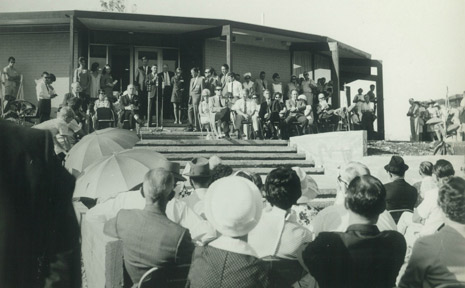 The official opening of The Roundhouse in 1969 marked the beginning of the construction of Ocean Shores.