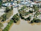 An aerial picture of Lismore in the May 2009 flood.