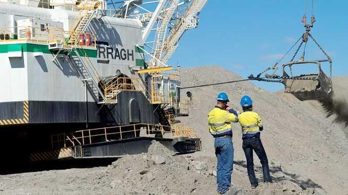 Curragh mine at Blackwater.