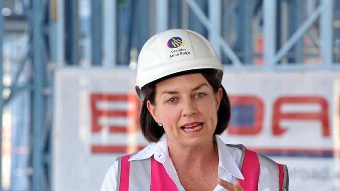 Queensland premier Anna Bligh