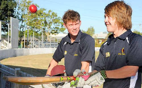 Zac Keune and Steve Nichols have been selected in the under-19 Queensland Country team after outstanding performances at Brisbane's Allan Border Field at the weekend.
