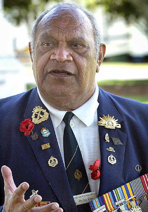 Buddy Lea in Hervey Bay in 2009.