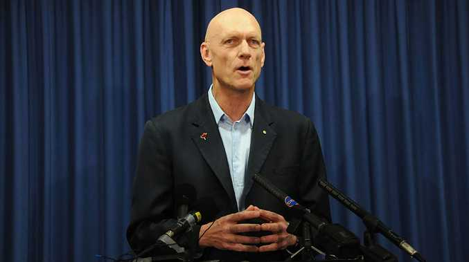 Peter Garrett announces his decision against the Traveston Crossing dam, six years ago today